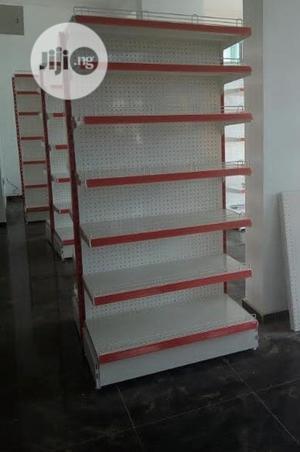 Single Side Supermarket Shelves(Red) | Store Equipment for sale in Lagos State, Ojo