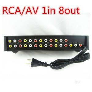 8 Port Video & Audio AV Splitter | Accessories & Supplies for Electronics for sale in Lagos State, Ikeja