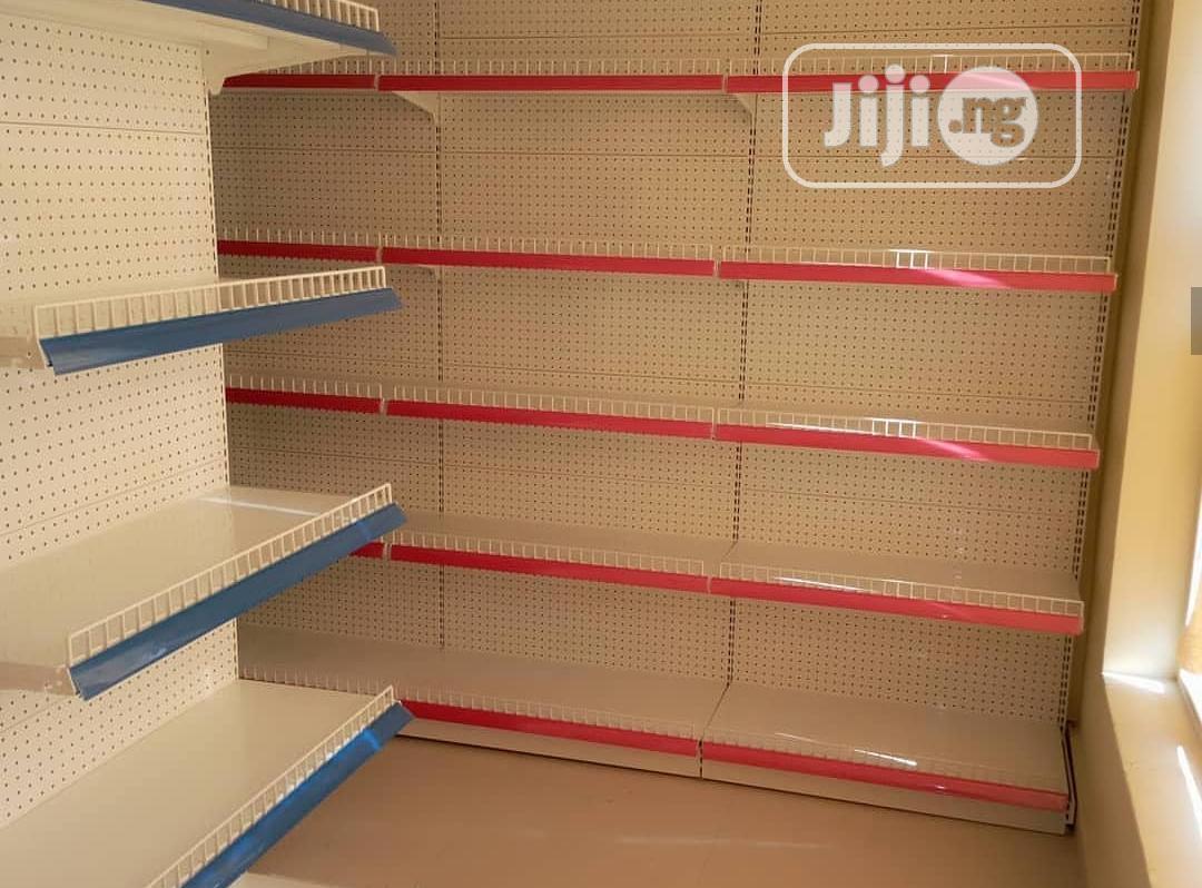 Double Supermarket Shelf