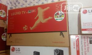 LG 55 Inches Smart Uhd Television   TV & DVD Equipment for sale in Lagos State, Ojo