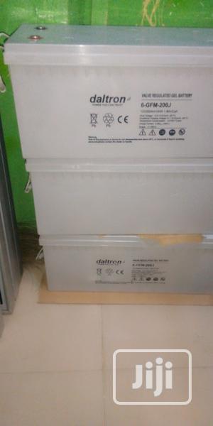 12v 200ah Daltron Battery   Solar Energy for sale in Lagos State, Ojo