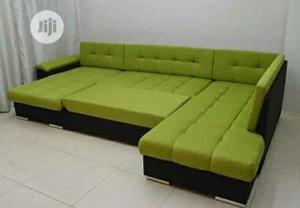 L-Shape Padded Sofa Chair.   Furniture for sale in Lagos State, Ojo