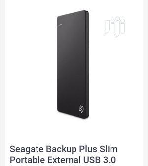 Seagate Backup Plus Slim Portable External USB 3.0 Hard Drive - 500GB | Computer Hardware for sale in Lagos State, Ikeja