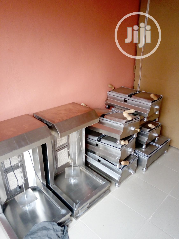 Shawarma Machine And Toaster