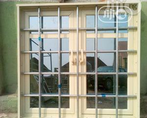Casement Window With Foreign Galvanised Pipe Protector | Windows for sale in Rivers State, Port-Harcourt