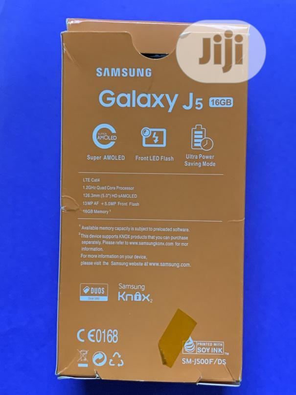 New Samsung Galaxy J5 16 GB Black   Mobile Phones for sale in Enugu, Enugu State, Nigeria