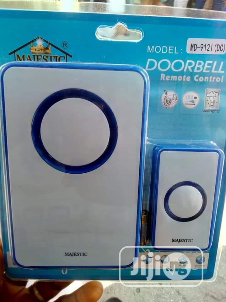 Majestic Door Bell REMOTE CONTROL 100 METRE ABOVE   Security & Surveillance for sale in Central Business District, Abuja (FCT) State, Nigeria