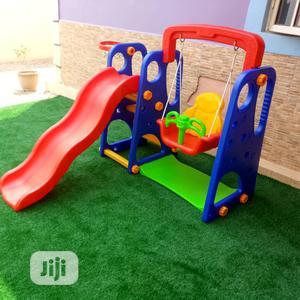 3 In Playground Set-slide, Swing & Basketball Hoop | Toys for sale in Lagos State, Ikeja