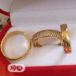 Intallian Gold Wedding Ring Set | Wedding Wear & Accessories for sale in Lagos State