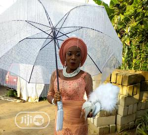 Bridal Umbrella and Fan for Sale | Wedding Wear & Accessories for sale in Delta State, Sapele