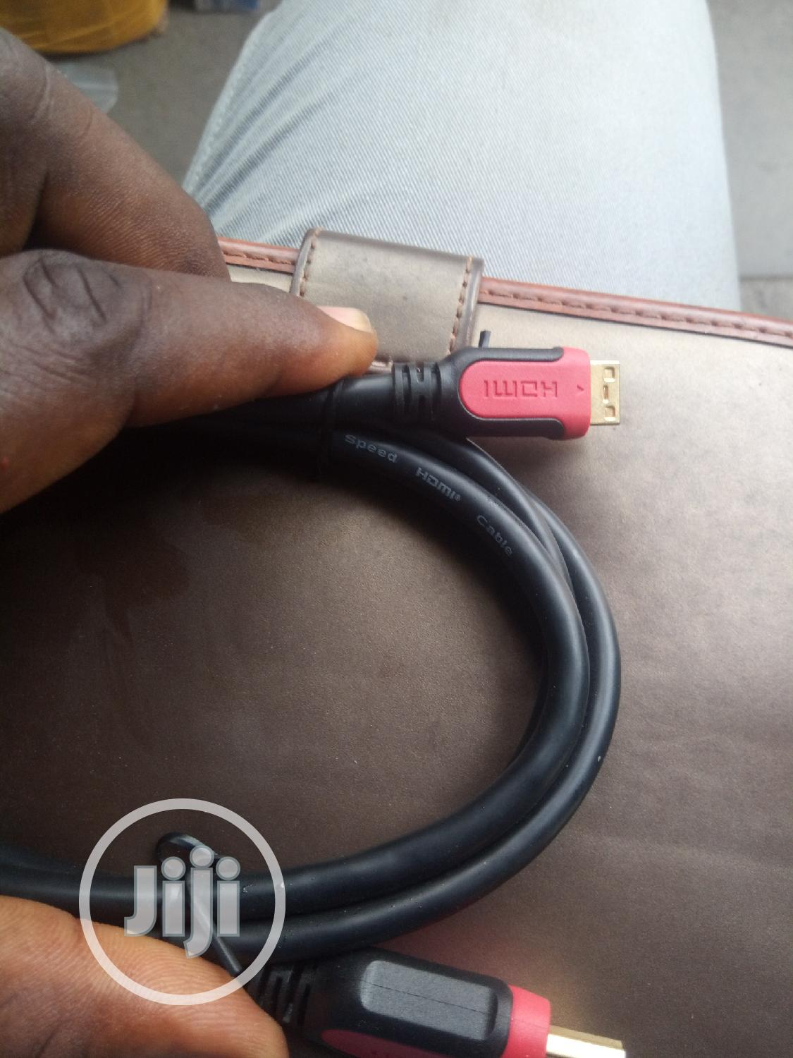 Hdmi To Micro HDMI Cable   Accessories & Supplies for Electronics for sale in Ikeja, Lagos State, Nigeria