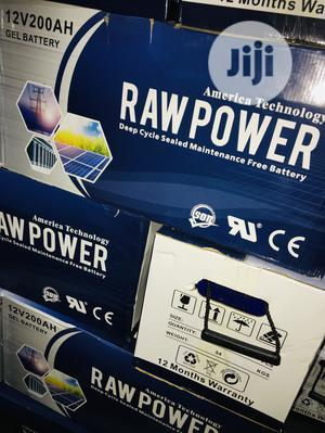 200ah 12v Raw Power Battery Available With 1yr Warranty | Electrical Equipment for sale in Lagos State, Lekki