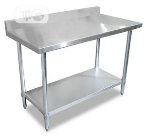 Quality Working Table With Back   Restaurant & Catering Equipment for sale in Lagos State, Ojo