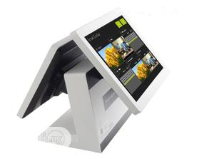 Double Screen POS Machine (Touch Screen 15 Inch) | Store Equipment for sale in Lagos State, Ikeja