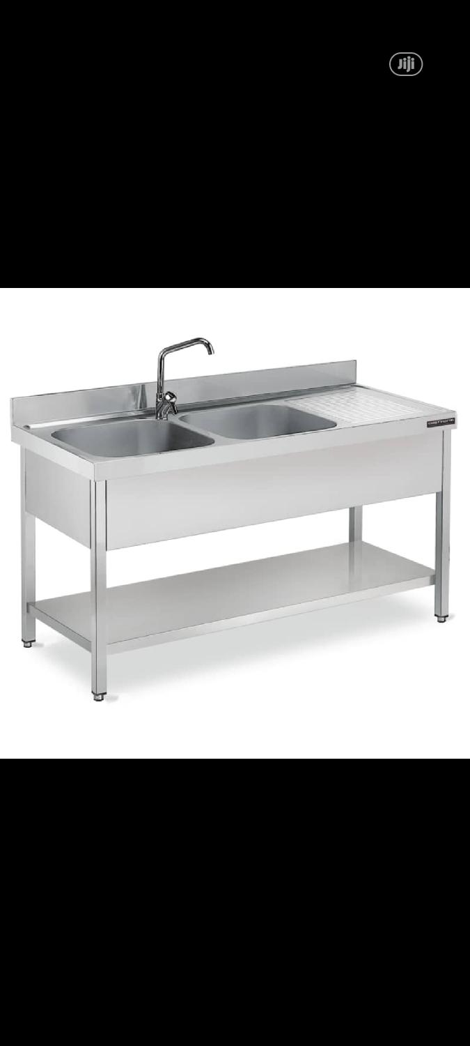 Sink Table With Bench