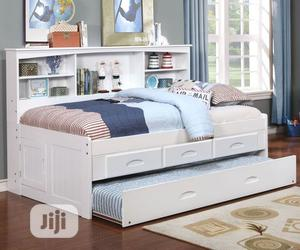 Kids Bed With Trundle | Children's Furniture for sale in Lagos State, Ipaja