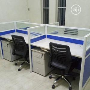 Blue Office Workstation Table   Furniture for sale in Lagos State, Oshodi