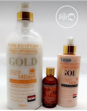 Pure Egyptian Magic Whitening Set, Shower Gel, Oil, Lotion   Bath & Body for sale in Lagos State, Amuwo-Odofin