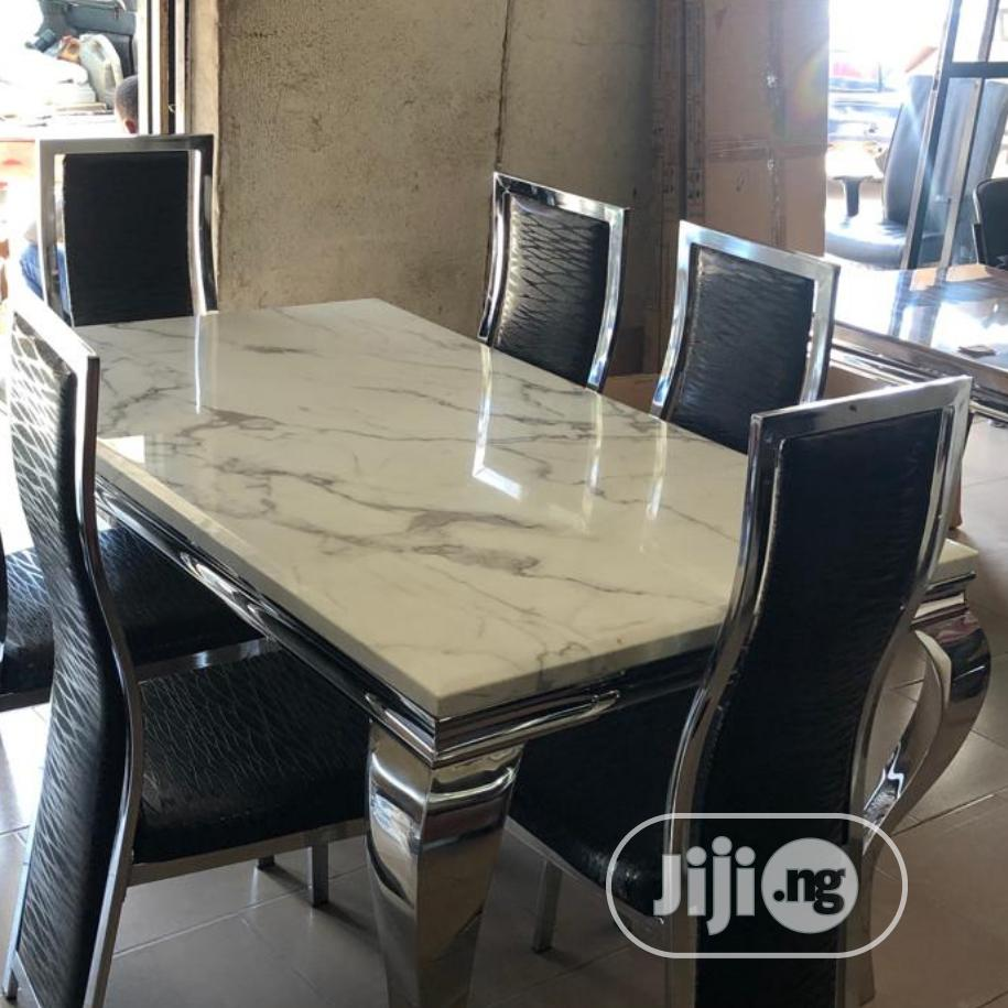 Ideal Marble Dining Table