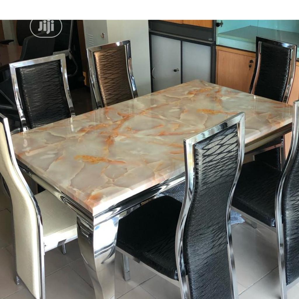 Affordable Marble Dining Table