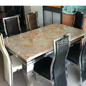 Affordable Marble Dining Table | Furniture for sale in Lagos State, Oshodi