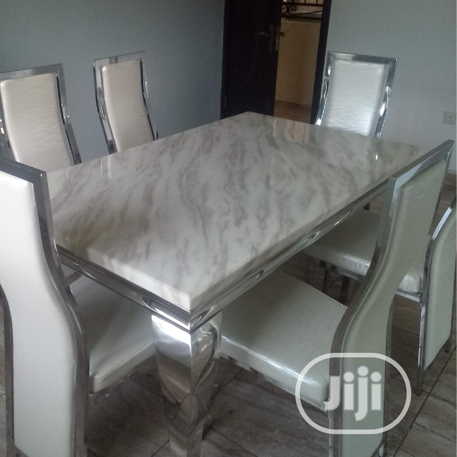 Neat Marble Dining Table