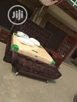 Upholstery Complete Set Bed With Side Mirror | Furniture for sale in Lagos State, Ojo