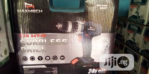 Maxmech Rechargeable Drill Machine 24v   Electrical Hand Tools for sale in Lagos State, Ojo