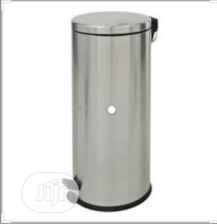 Quality Stainless Steel Waste Bin Pearl 30LTR
