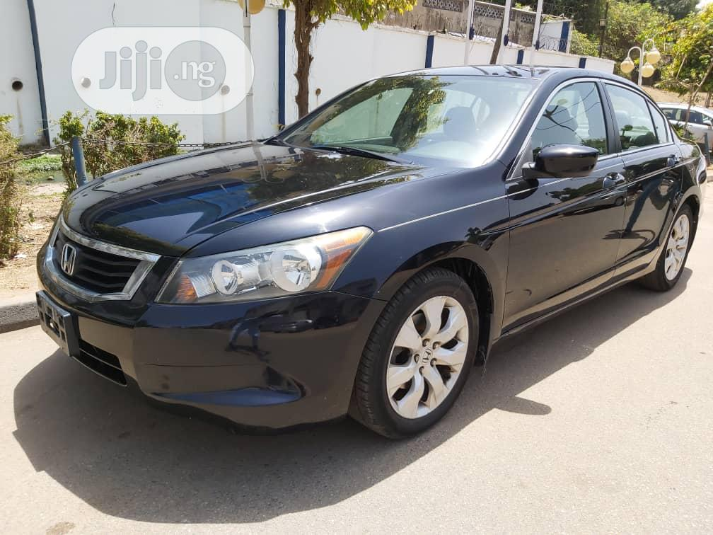Honda Accord 2008 2.4 EX Black | Cars for sale in Garki 1, Abuja (FCT) State, Nigeria
