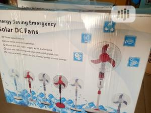 """16"""" Solar Rechargeable Fan With 20w Solar Panel. 