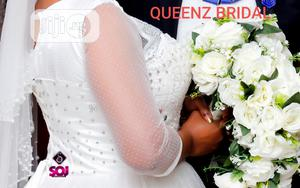 Beautiful Foreign Lace Studded Ball Wedding Gown For Rent   Wedding Wear & Accessories for sale in Lagos State, Alimosho