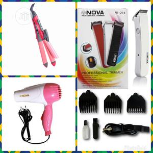 Nova Foldable Dryer, Hair Straightener and Professional Clippers | Tools & Accessories for sale in Lagos State, Lagos Island (Eko)