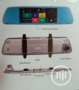 Android Inner Mirror Bluetooth With Front And Back Recording Camera   Vehicle Parts & Accessories for sale in Lagos State, Mushin