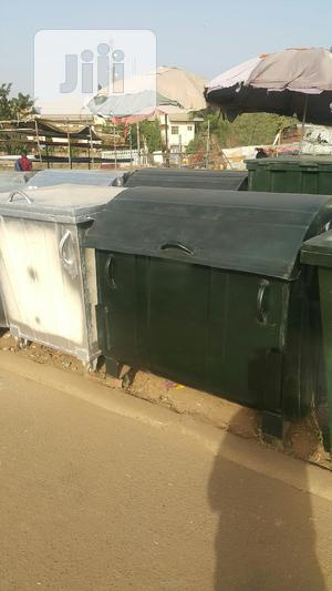 Galvanized Waste Bin. Free Delivery Within Abuja | Garden for sale in Abuja (FCT) State, Maitama