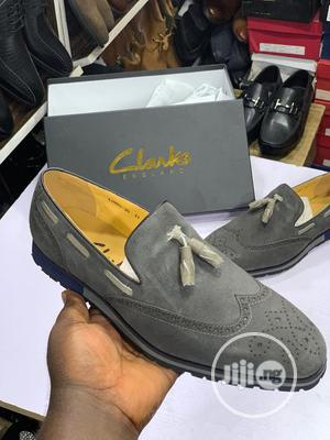Clarks Suede Casual Dress Shoe   Shoes for sale in Lagos State, Lagos Island (Eko)