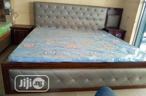 Quality Bed With Dressing Mirror And 2 Bed Side Drawers   Furniture for sale in Lagos State, Ojo