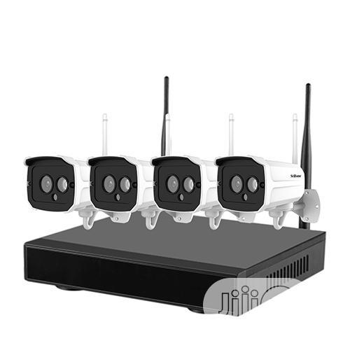 Srihome 4CH NVR Wireless Network IP Camera Kit