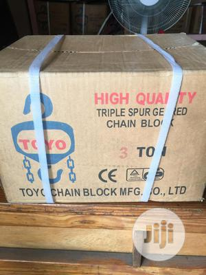 Chain Block 3tons X 6mtrs, TOYO   Manufacturing Equipment for sale in Rivers State, Port-Harcourt