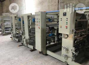 4 Color Flexo Printing Machine | Printing Equipment for sale in Lagos State, Ojo
