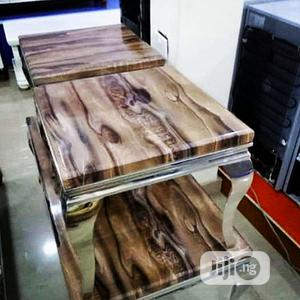 Marble Center Table Side Stools | Furniture for sale in Lagos State, Ikeja