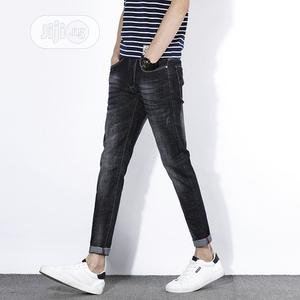 Mens Fashion Stone Black Jeans. | Clothing for sale in Lagos State, Ikeja