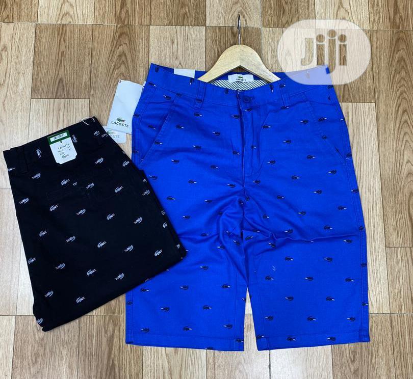 Lacoste Short Designer   Clothing for sale in Lagos Island (Eko), Lagos State, Nigeria