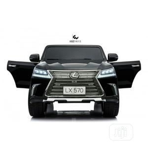 Black Lexus LX570 Double Seat Kid's Car | Toys for sale in Lagos State, Surulere