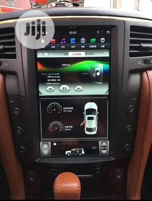 Lexus Lx570 Android DVD And Reversing Camera | Vehicle Parts & Accessories for sale in Lagos State, Mushin