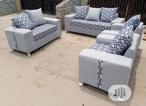 Set of 7 Seaters Sofa Chairs. Fabric Couch | Furniture for sale in Lagos State