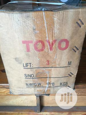 Chain Block 2tons X 3mtrs, TOYO   Manufacturing Equipment for sale in Rivers State, Port-Harcourt