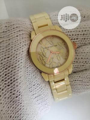 Louis Vuitton (LV) Ceramic Watch for Women's   Watches for sale in Lagos State, Lagos Island (Eko)