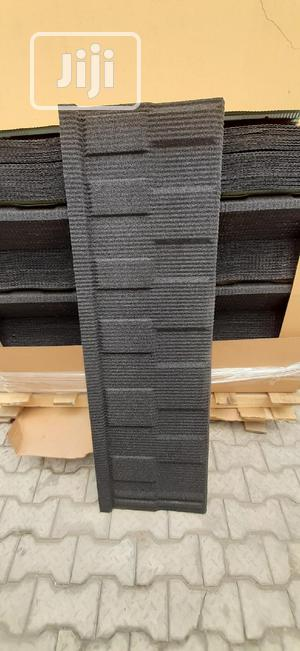 Original Newzealand Stone Coated Sheets (Black Shingle)   Building Materials for sale in Lagos State, Maryland