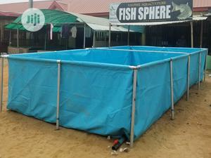 Large Tarpaulin Mobile Fish Pond | Farm Machinery & Equipment for sale in Lagos State, Ipaja